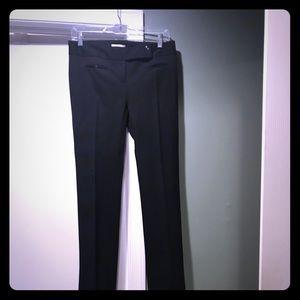 Loft Marisa black pants. Size 0